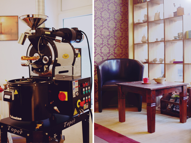 die kleine kaffeer sterei frisch gemahlener kaffee zum mitnehmen f rde fr ulein. Black Bedroom Furniture Sets. Home Design Ideas