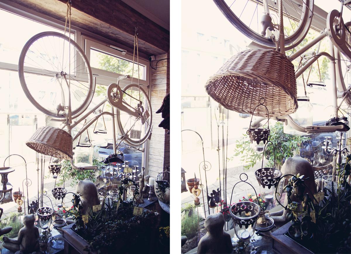 Fahrrad-Schaufenster-Steinreich
