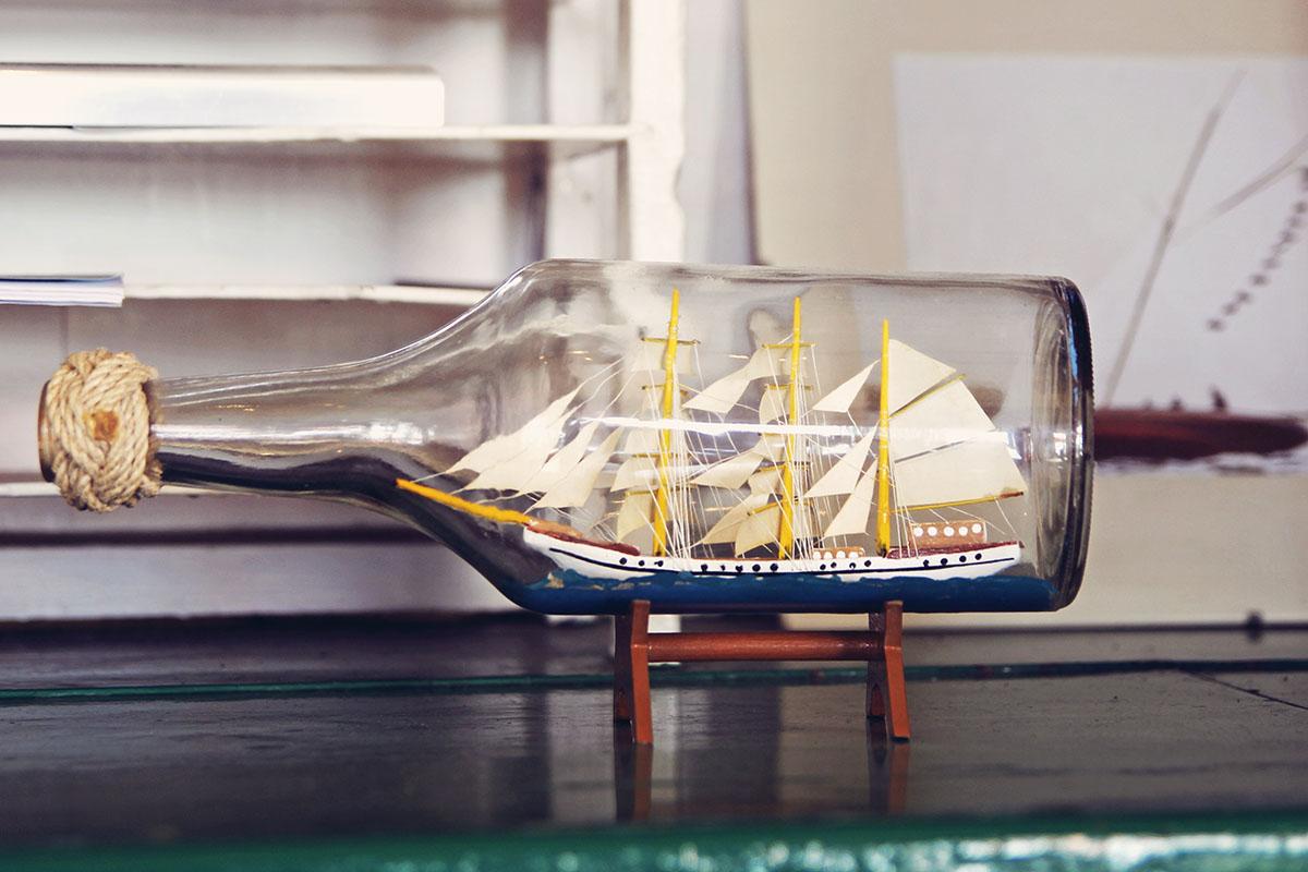 Buddelschiff-schiffercafe-holtenau
