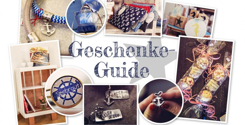 Geschenke Guide Maritimes Und Handgemachtes Forde Fraulein