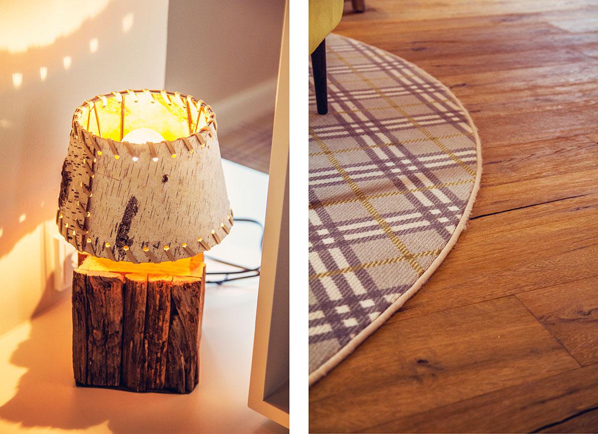 Lampe-Teppich