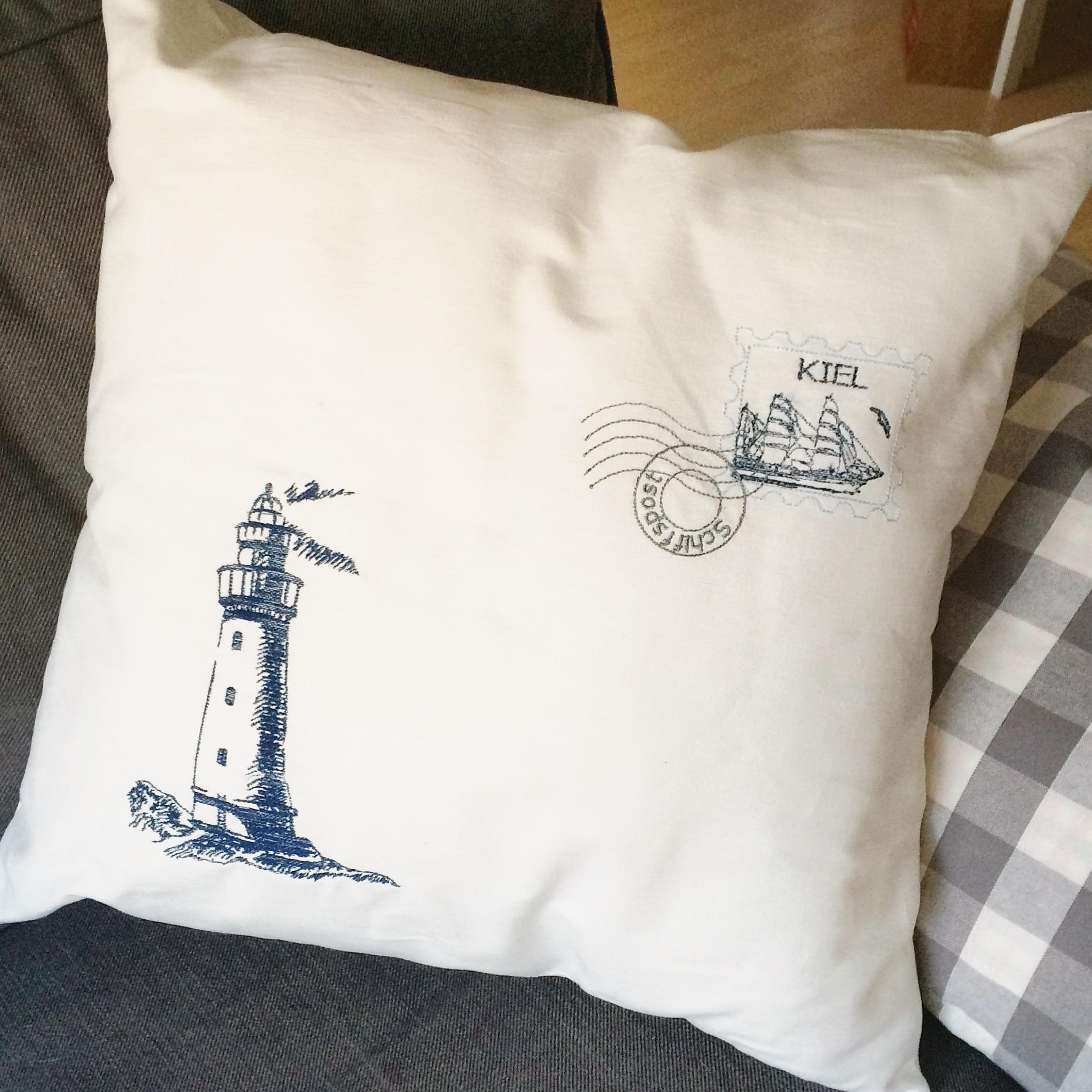 Kissen-Kiel-raumzutat