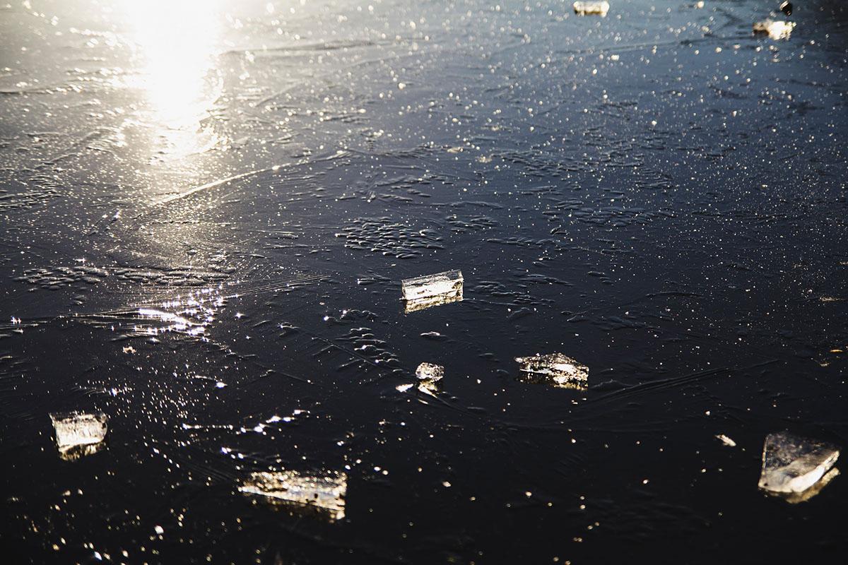 wintertag-kiel-foerdefraeulein-schrevenpark-teich-gefroren-sonne