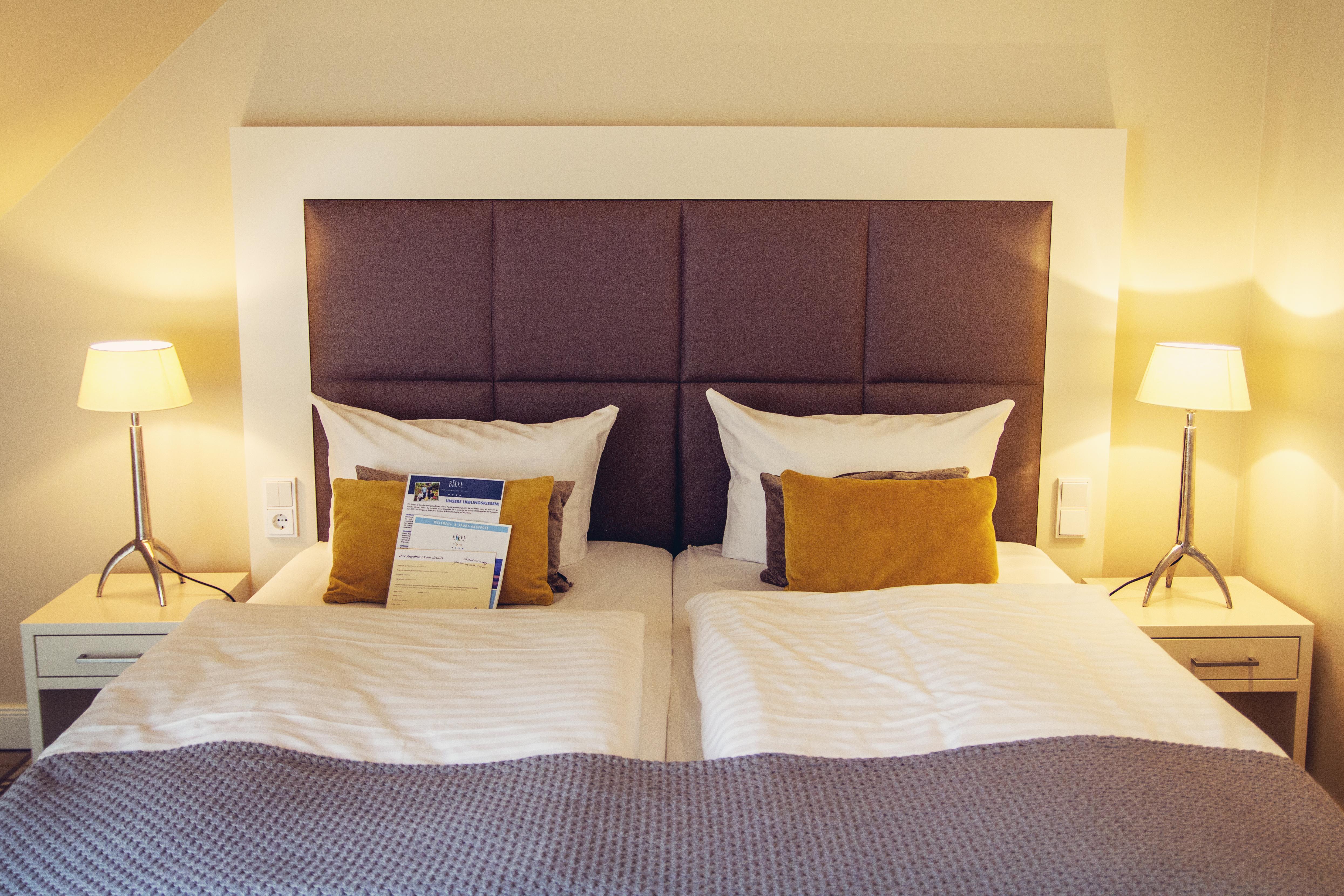 HotelBirke_Kiel_Suite_Bett