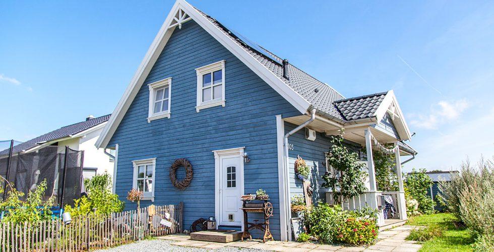 So Wohnt Der Norden Evis Schwedenhaus Forde Fraulein