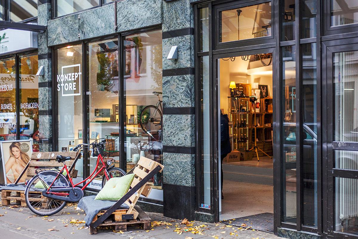 Entdecke den Bummelbude Konzept Store Kiel