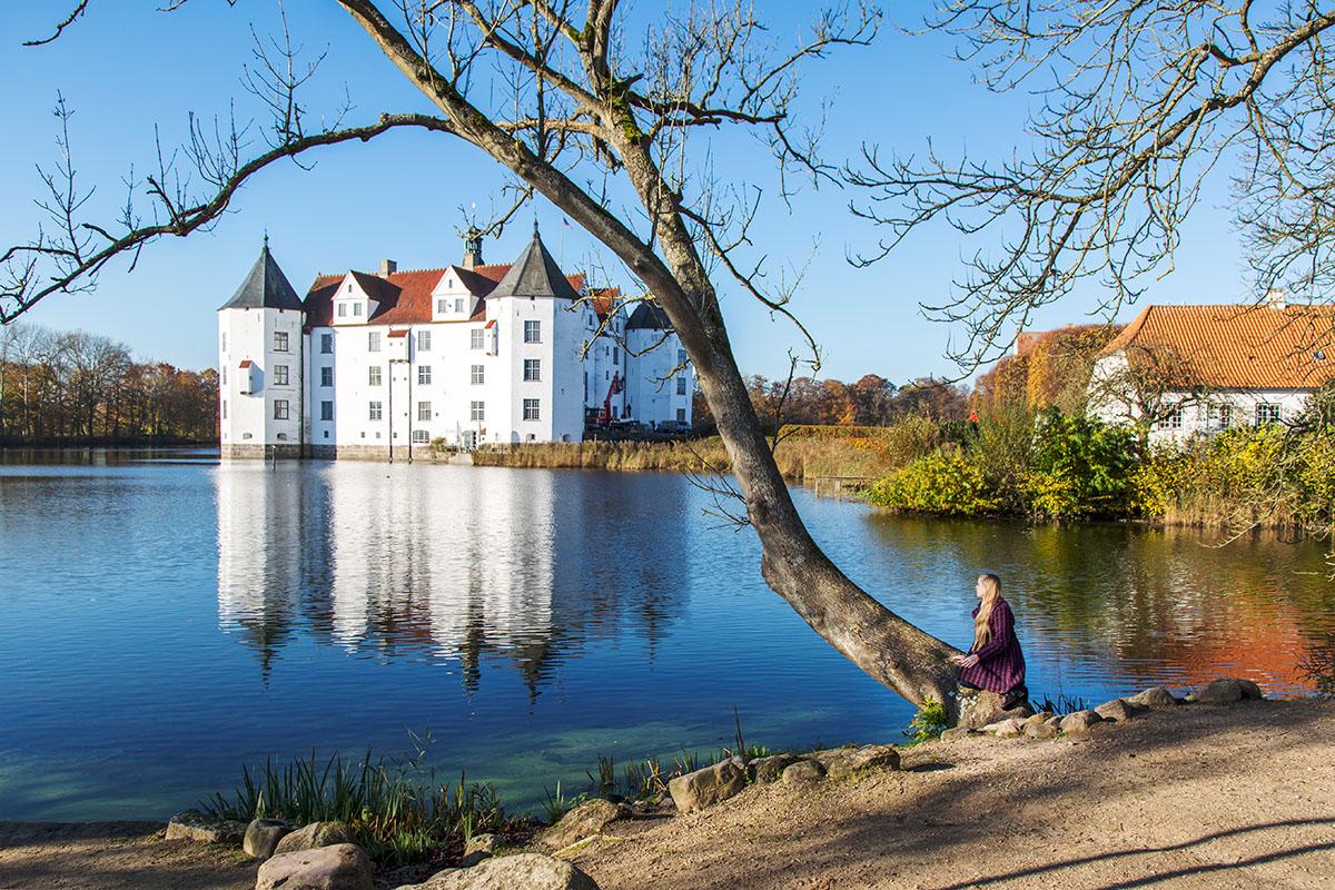 Urlaub in den Glueck in Sicht Lodges in Gluecksburg an der Ostsee