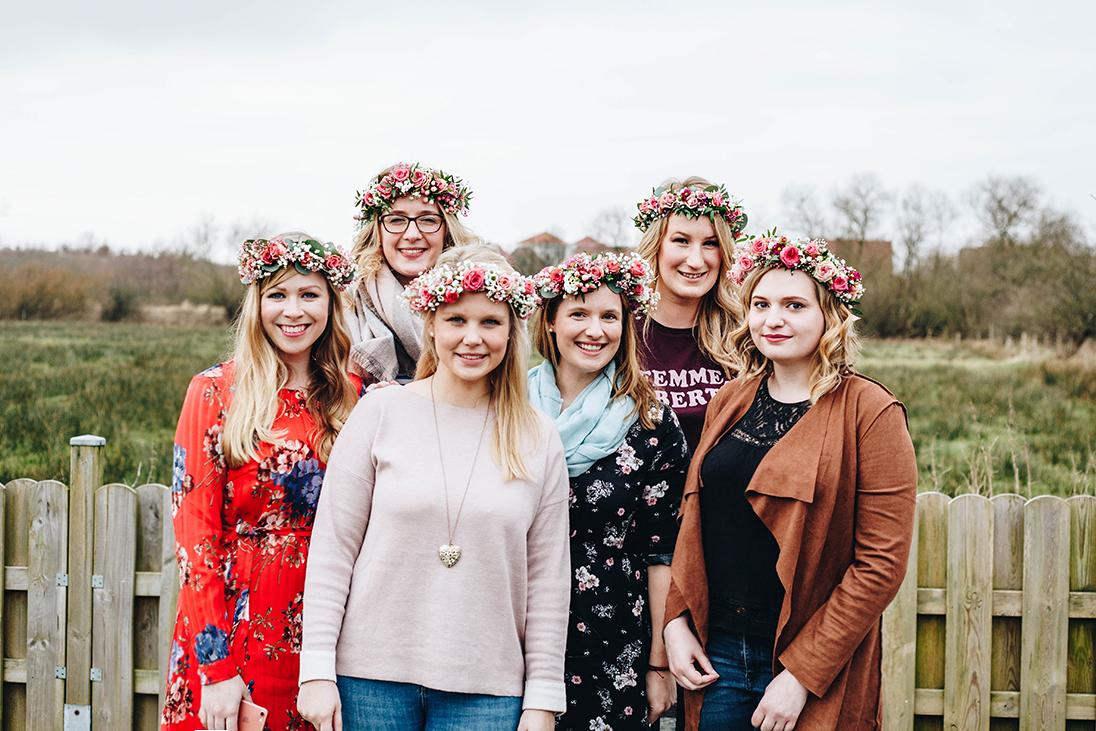 Junggesellinnenabschied in Kiel und Schleswig-Holstein: Die besten Tipps! Flowercrown Workshop