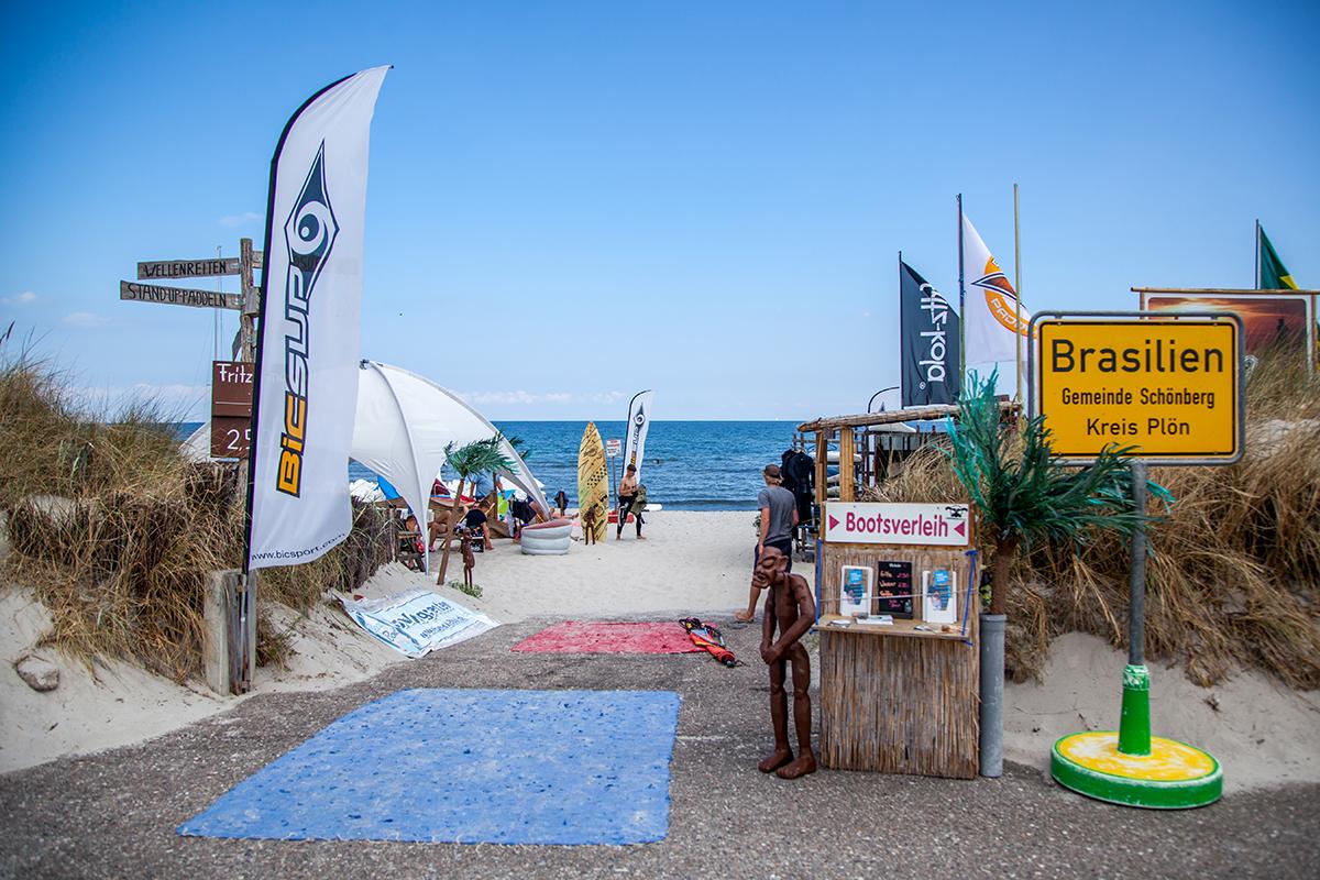 Hotel Strandräuber: Ostseeurlaub in Kalifornien und Brasilien