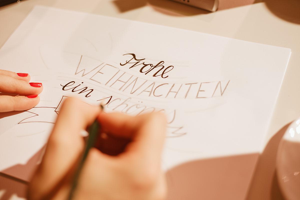 Handlettering Workshop Moebel Janz Kiel bei Alina Treptow