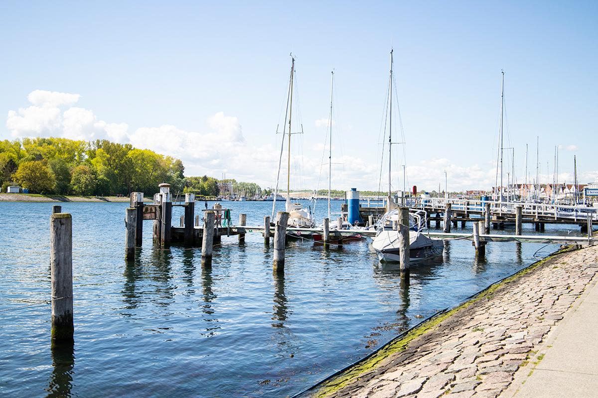 Ausflug nach Travemünde in Schleswig-Holstein an der Ostsee