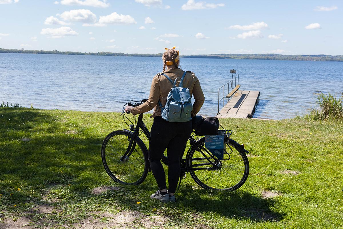 Komm' mit auf eine Fahrradtour am Wittensee entlang und zur Holtseer Käsekiste