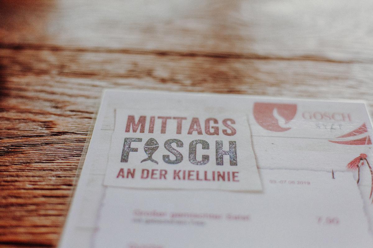 Gosch Kiel Kiellinie Förde
