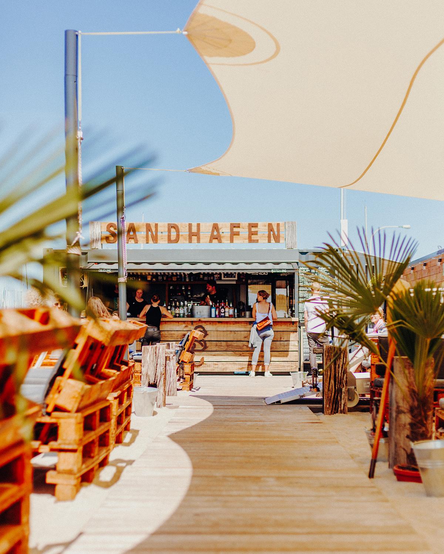 Sandhafen Bar Kiel Kiellinie
