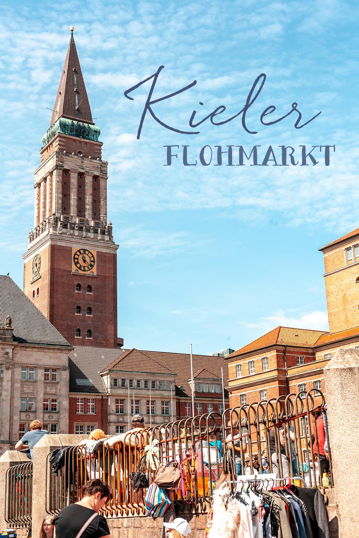 Kieler Innenstadt Flohmarkt
