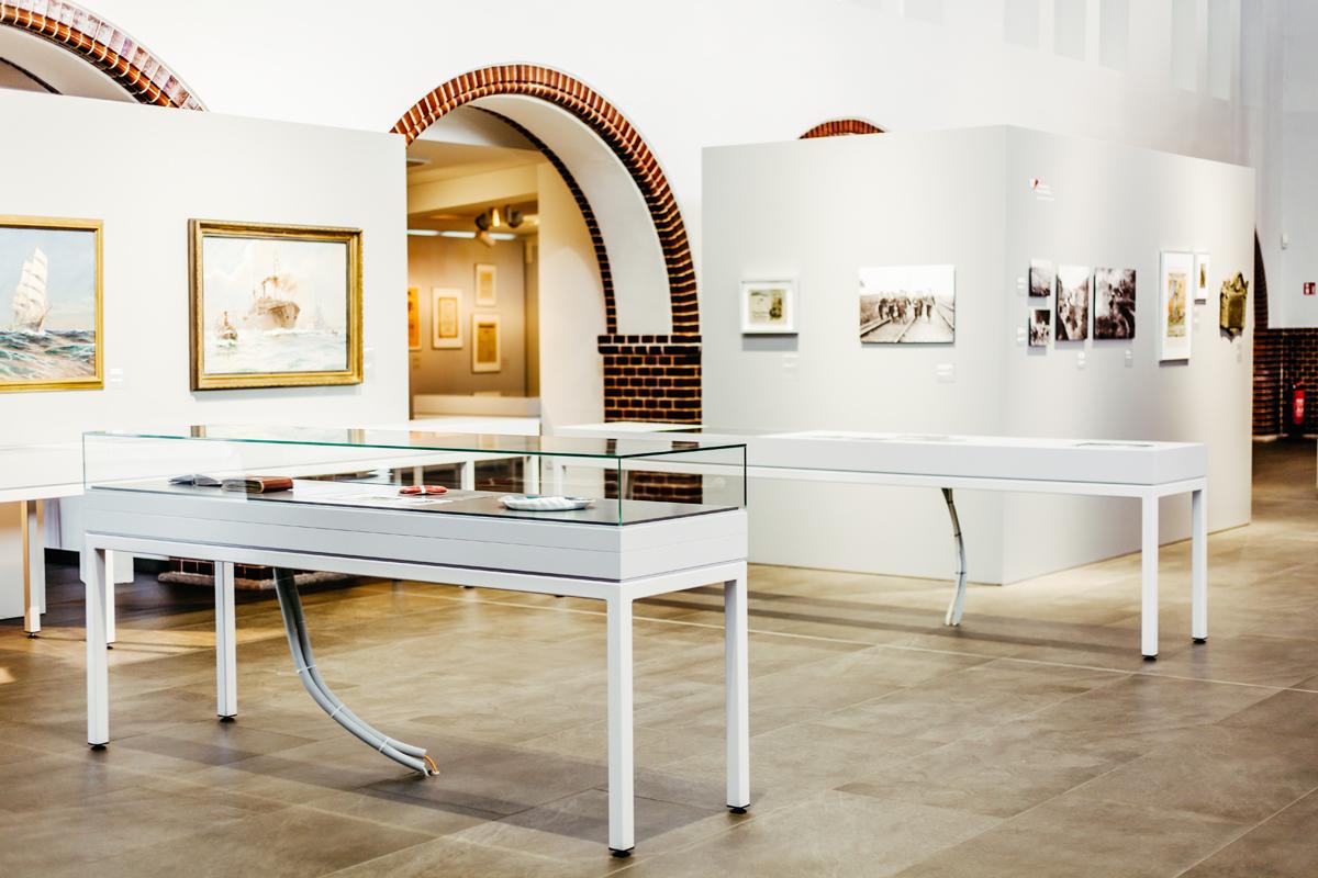 Durch Exponate und anschauliche Dokumente wird die Geschichte Kiels im Stadt- und Schifffahrtsmuseum in der historischen Fischhalle zum Leben erweckt.