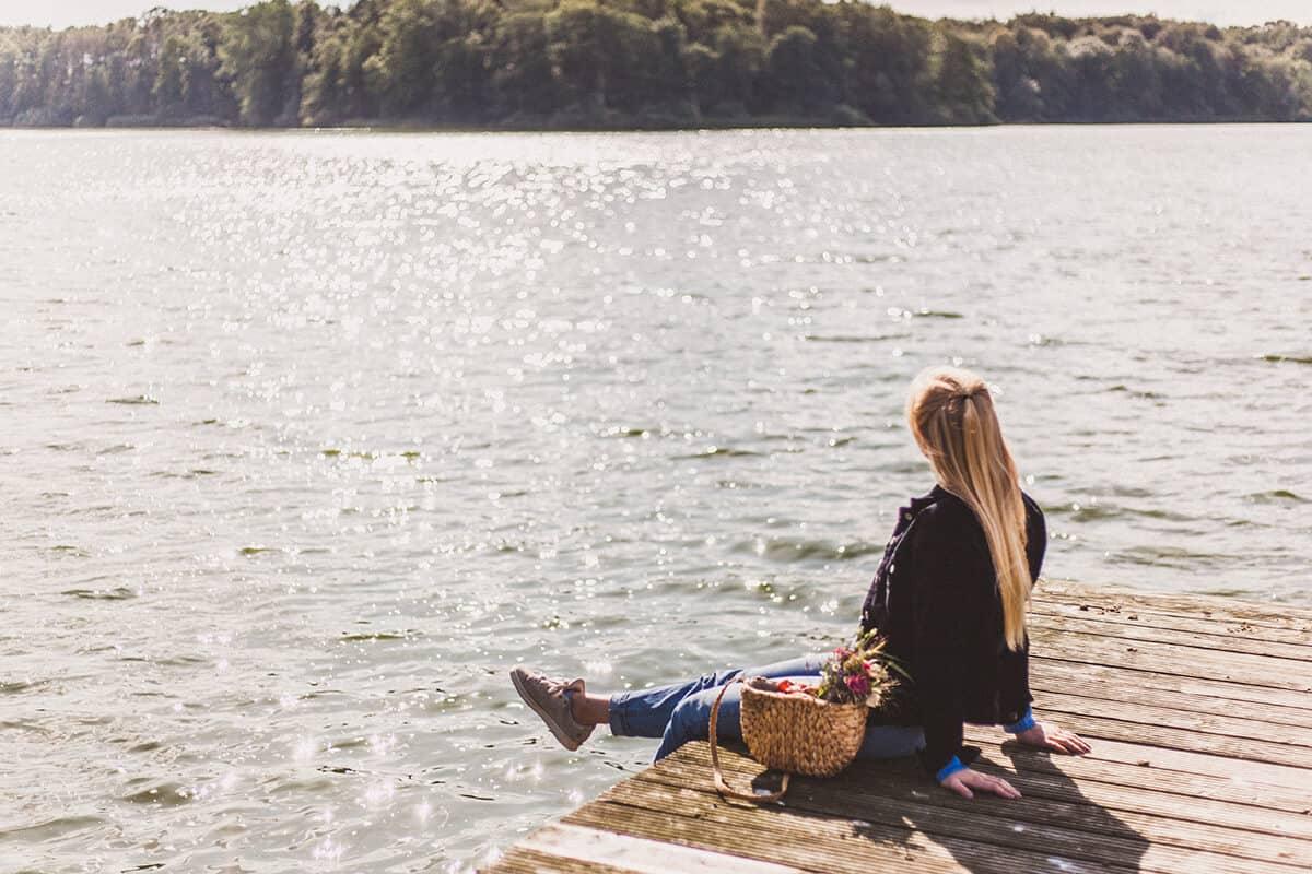 Bordesholmer See Steg Sommer