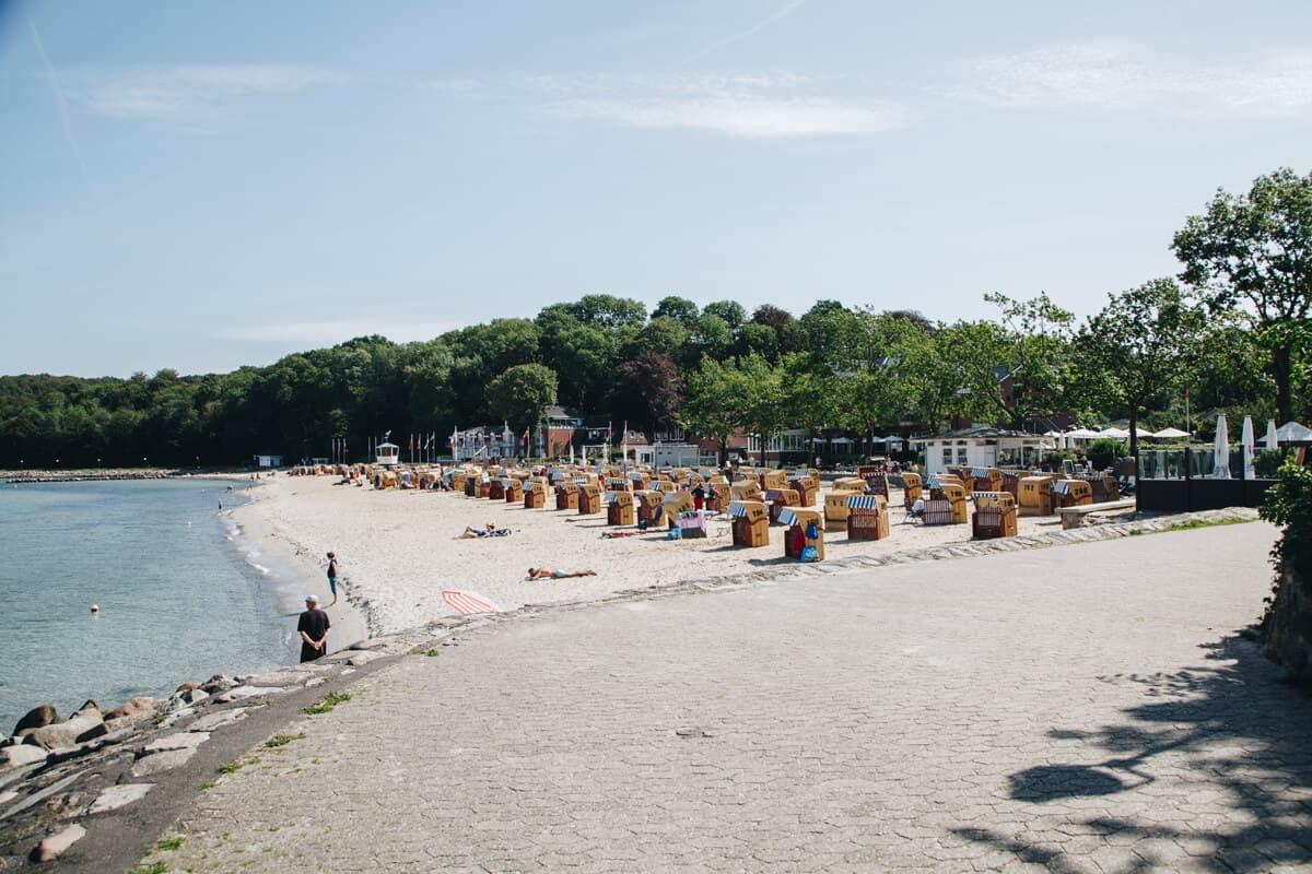 Heikendorf Strand Ostsee