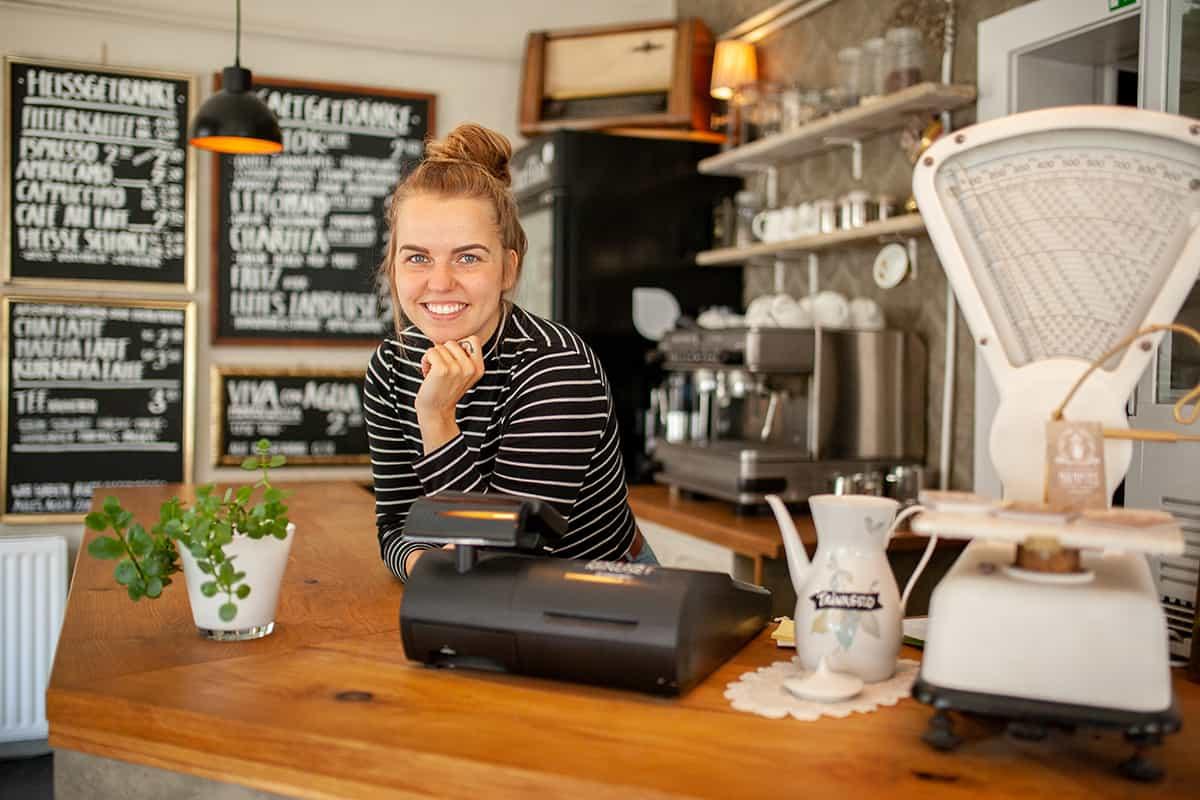 Kieler Gründerinnen: Carolin Boeck, Inhaberin von Café Mumpitz