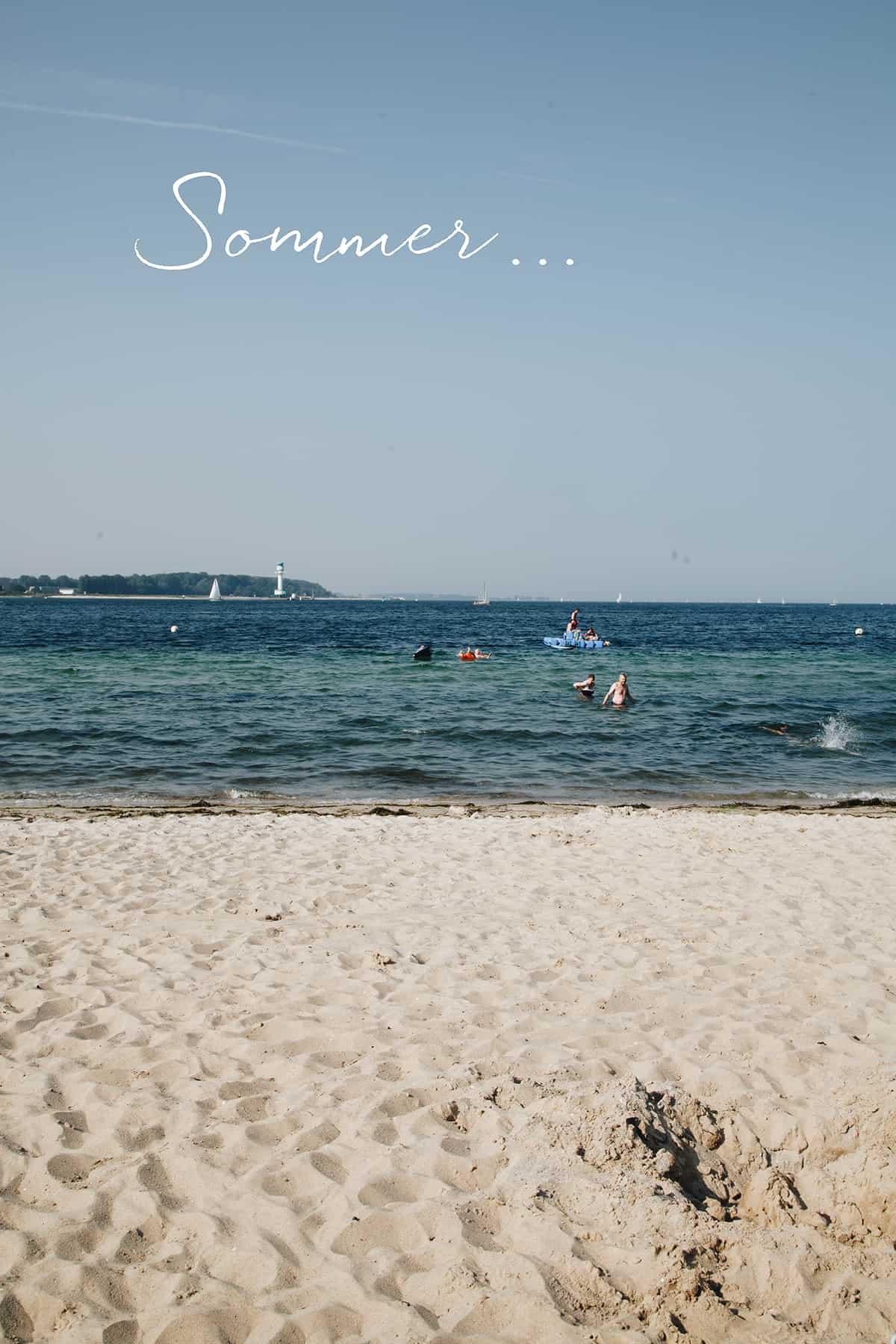 Der Strand in Heikendorf