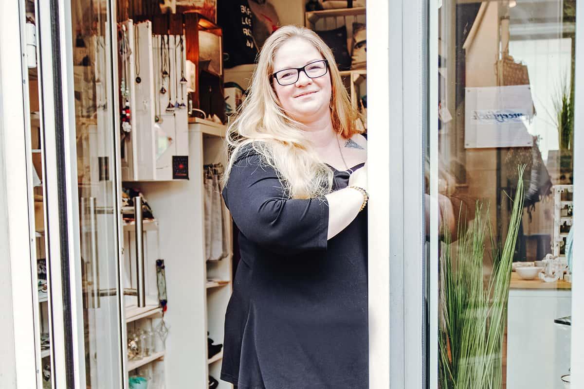 Kieler Gründerinnen: Kathrin Rosche, Inhaberin von meerfach