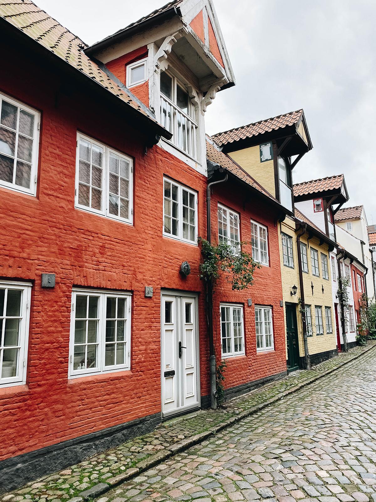 Flensburg Haus rote Fassade