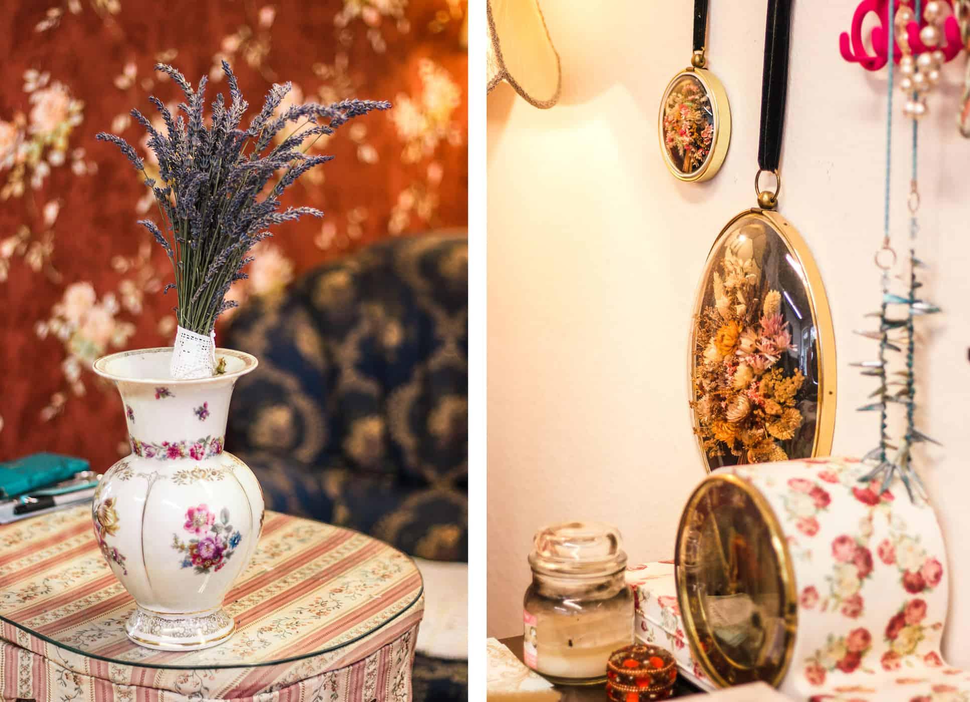 Die schönsten Second Hand Läden in Kiel: Goldkleid in der Gutenbergstraße, Vase