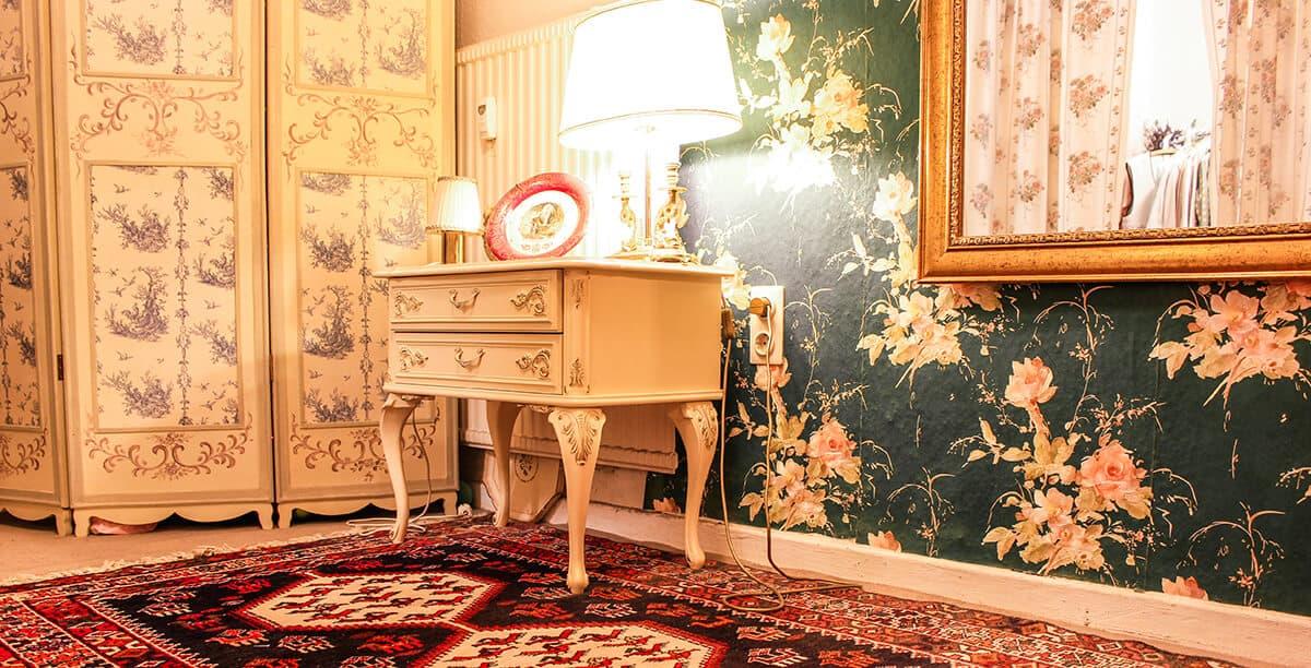 Die schönsten Second Hand Läden in Kiel: Goldkleid in der Gutenbergstraße, Inneneinrichtung