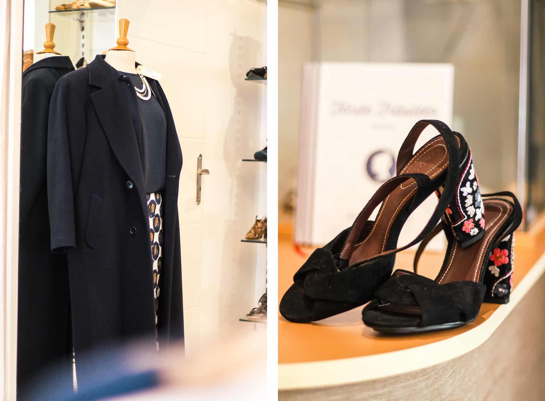 Die schönsten Second Hand Läden in Kiel: ProSeco, Mantel Sandalen