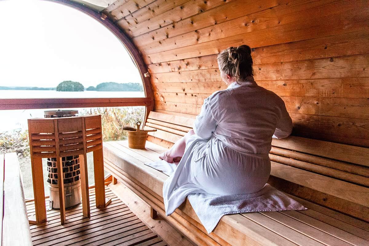 Finnische Sauna Bistensee