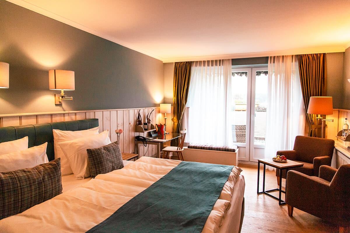 Wohlfühltzeit im Seehotel Töpferhaus am Bistensee Doppelzimmer