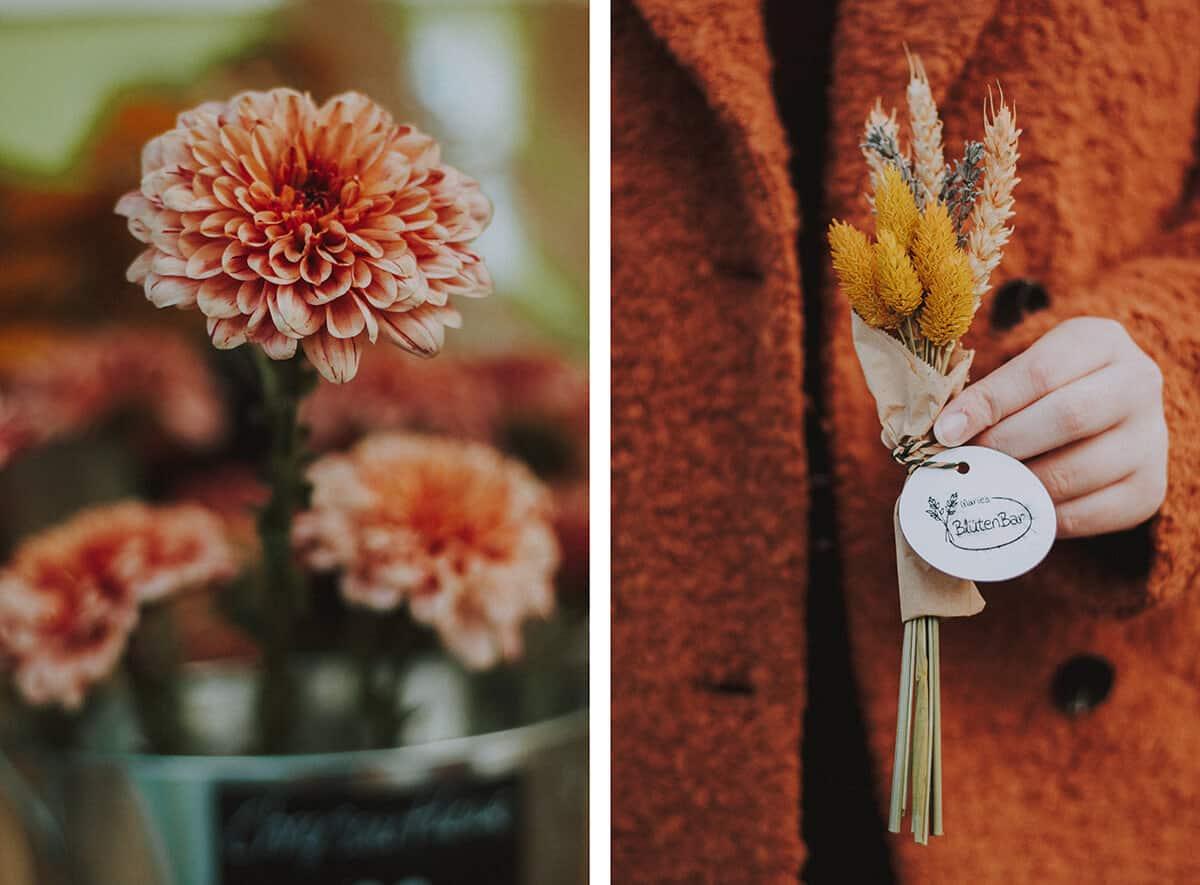 Blume und Strauß