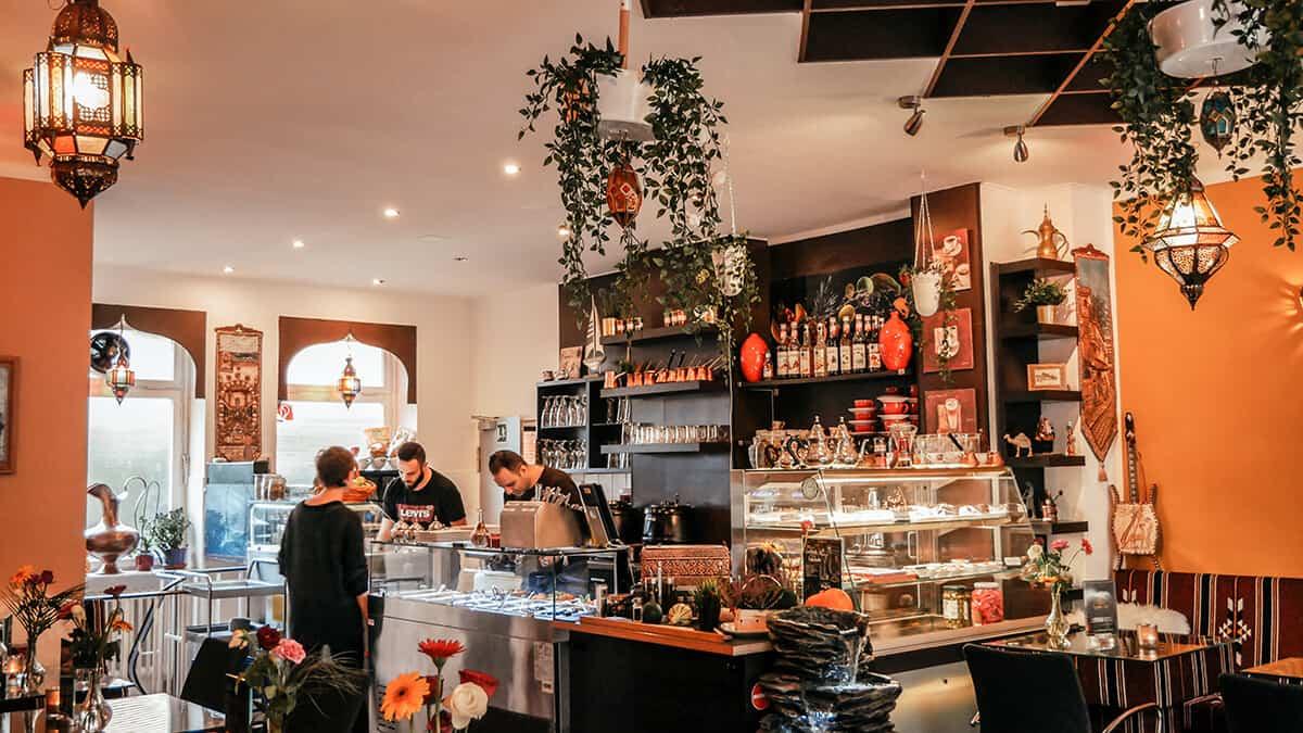 Innenansicht Rosana Café