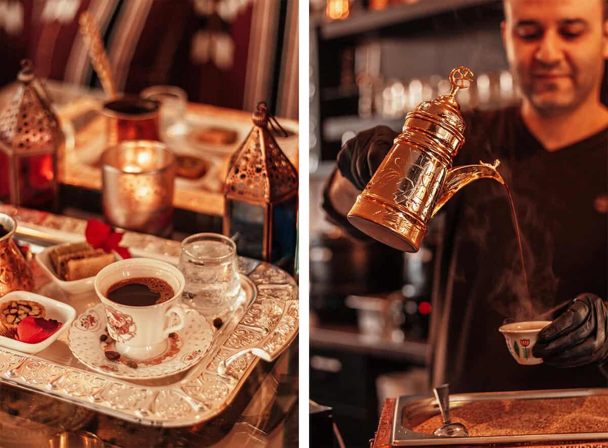Kaffeespezialität syrischer Mokka