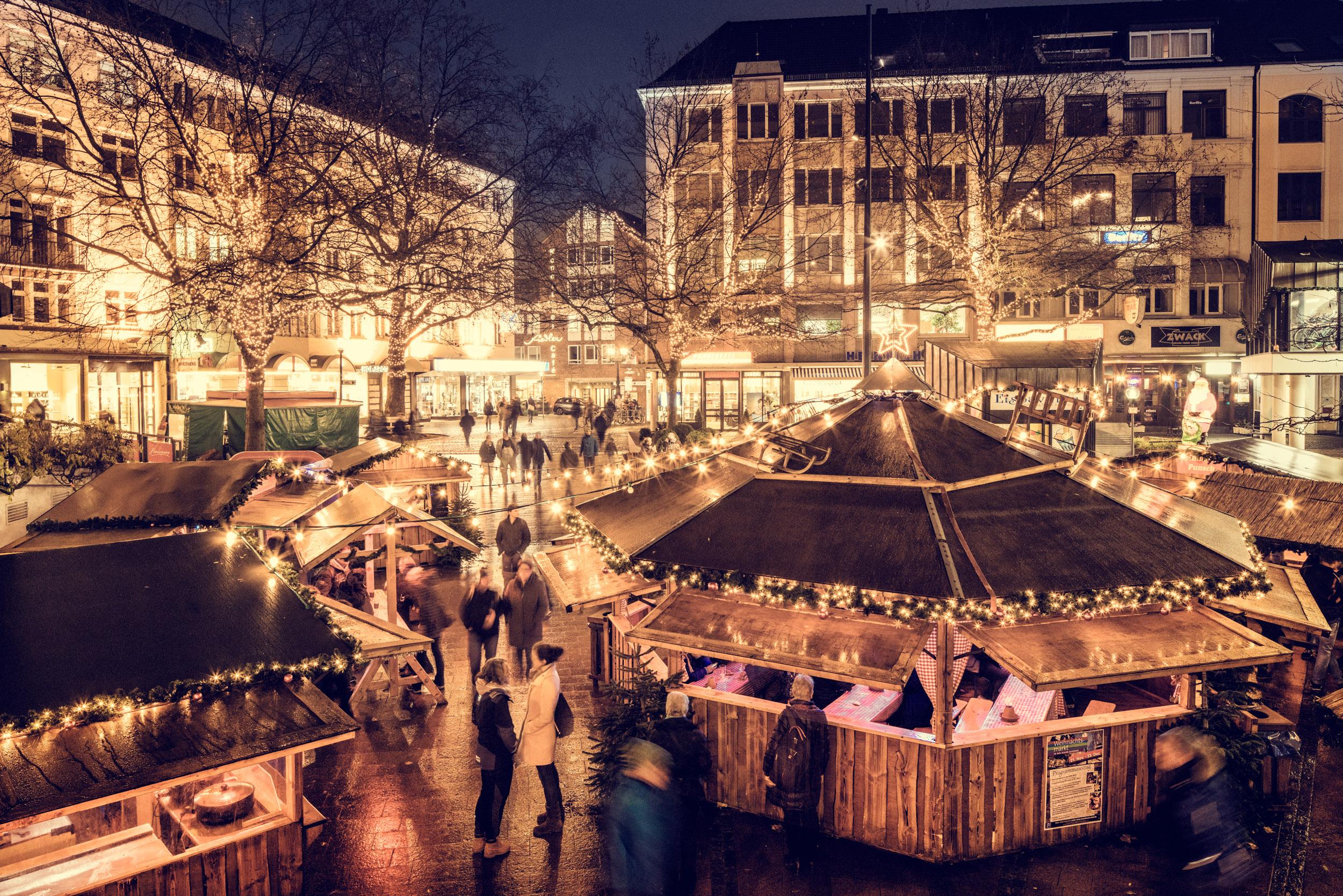 Die schönsten Weihnachtsmärkte in Schleswig-Holstein: Kiel