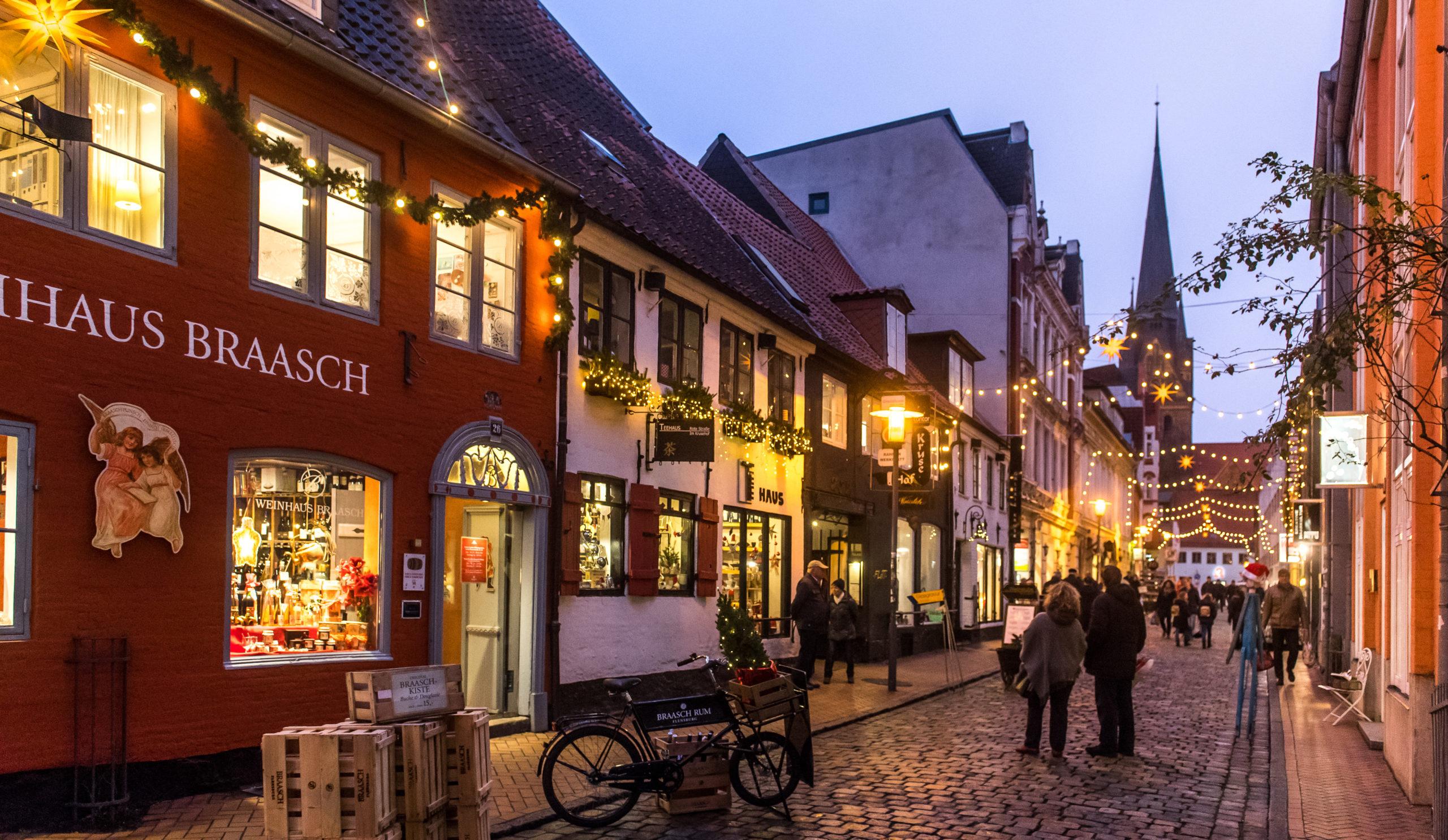 Die schönsten Weihnachtsmärkte in Schleswig-Holstein: Flensburg