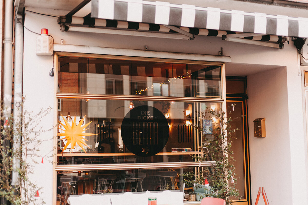 Cafés in Lübeck: Die Dicke Bertha Café