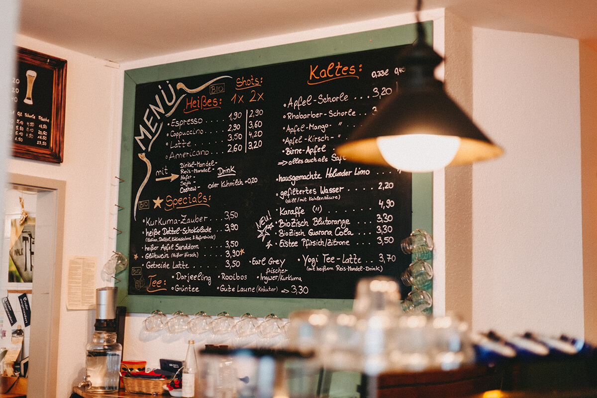 Cafés in Lübeck: Café Marae