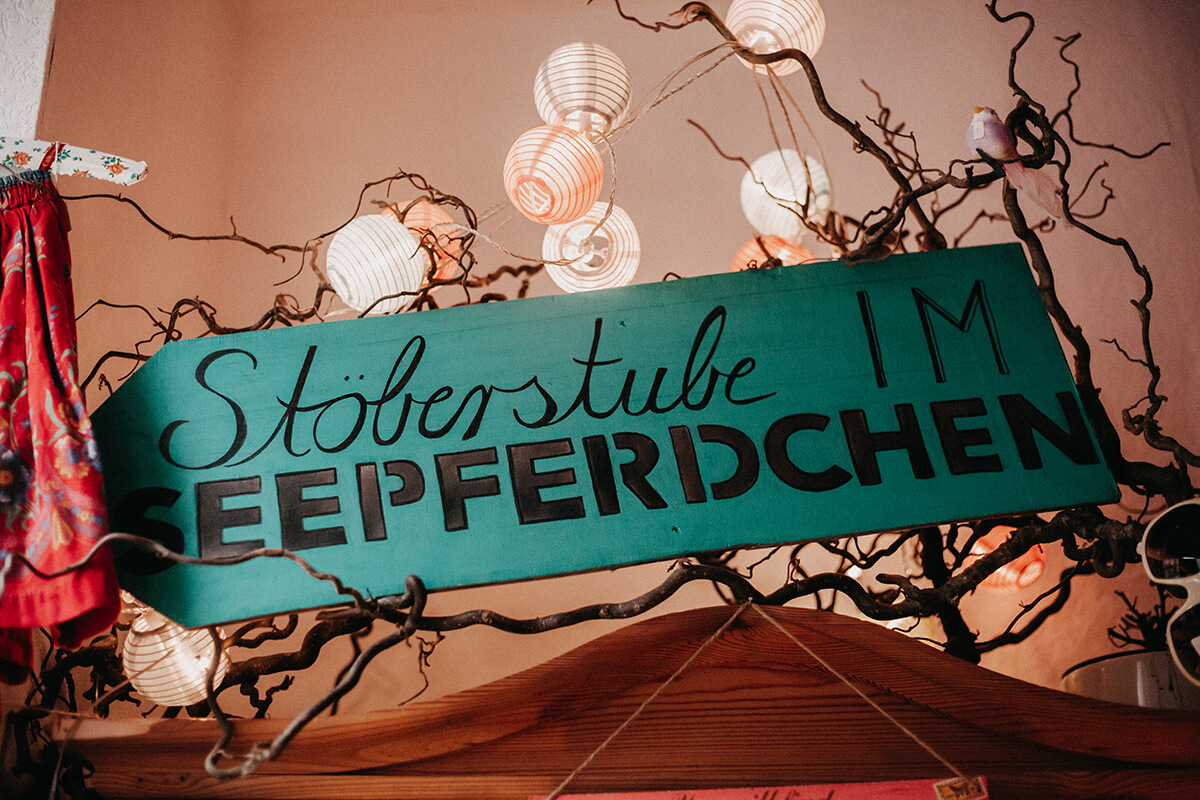 Galerie Seepferdchen Handgemachtes Kunst Kiel