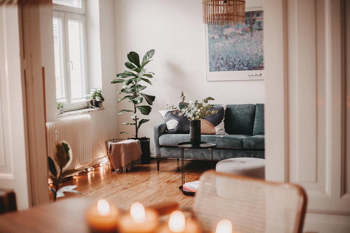 Totale Wohnzimmer
