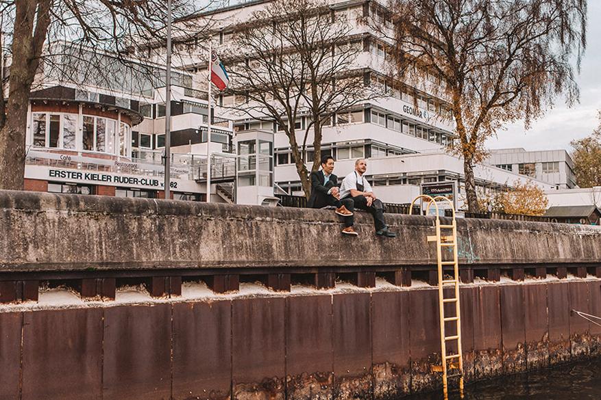 Restaurant Schöne Aussichten Kiel Nico Mordhorst De-Young Lee