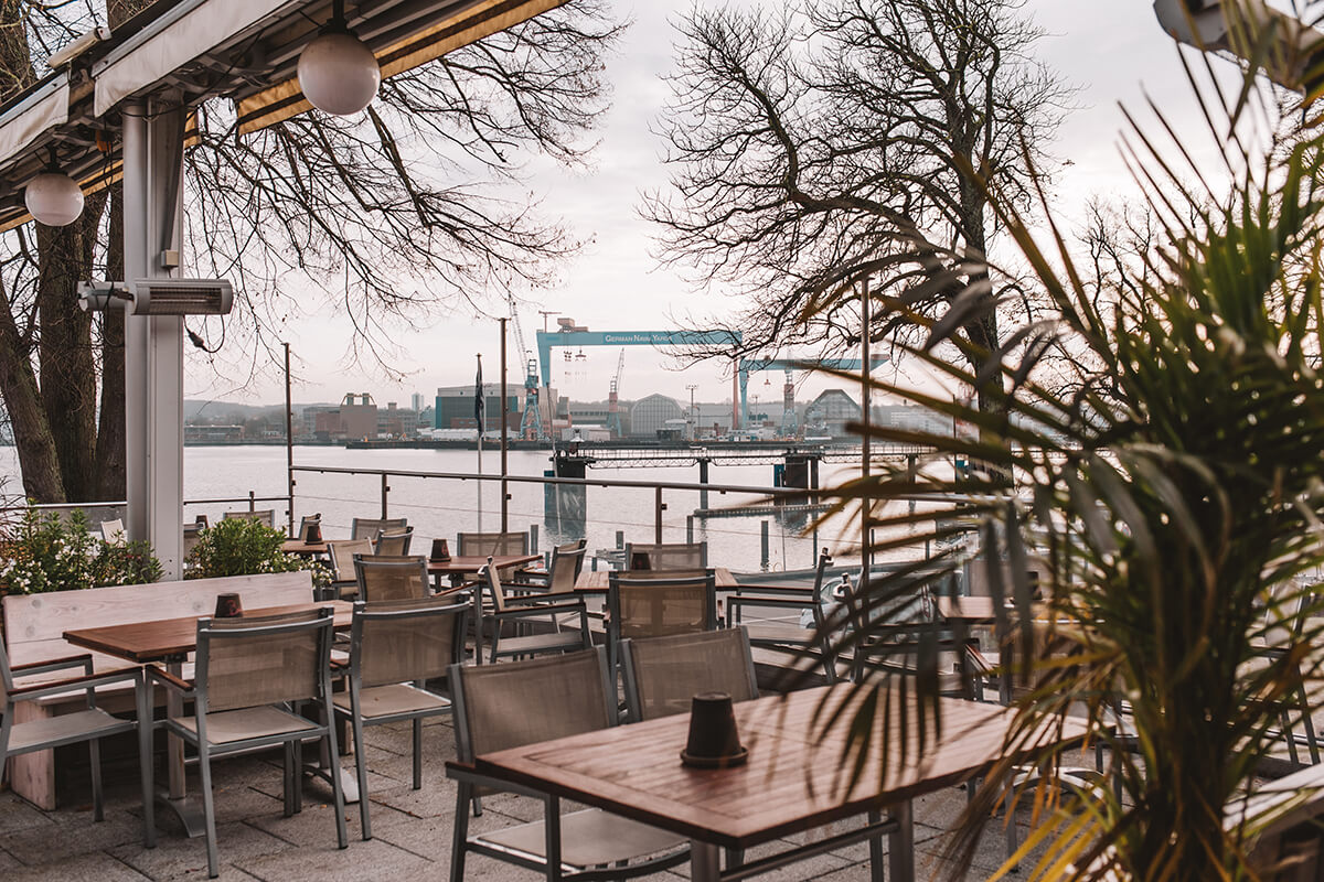 Restaurant Schöne Aussichten Kiel Terrasse