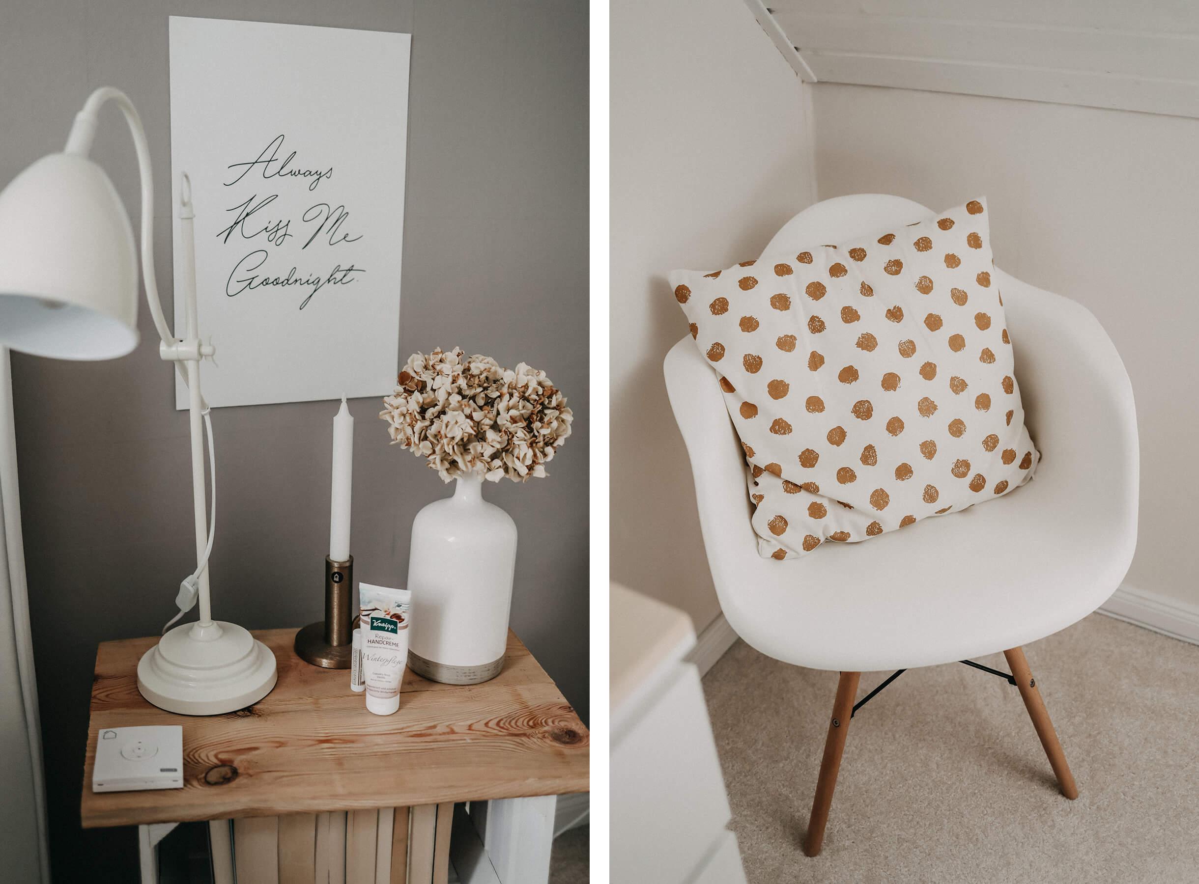 Collage Schlafzimmer