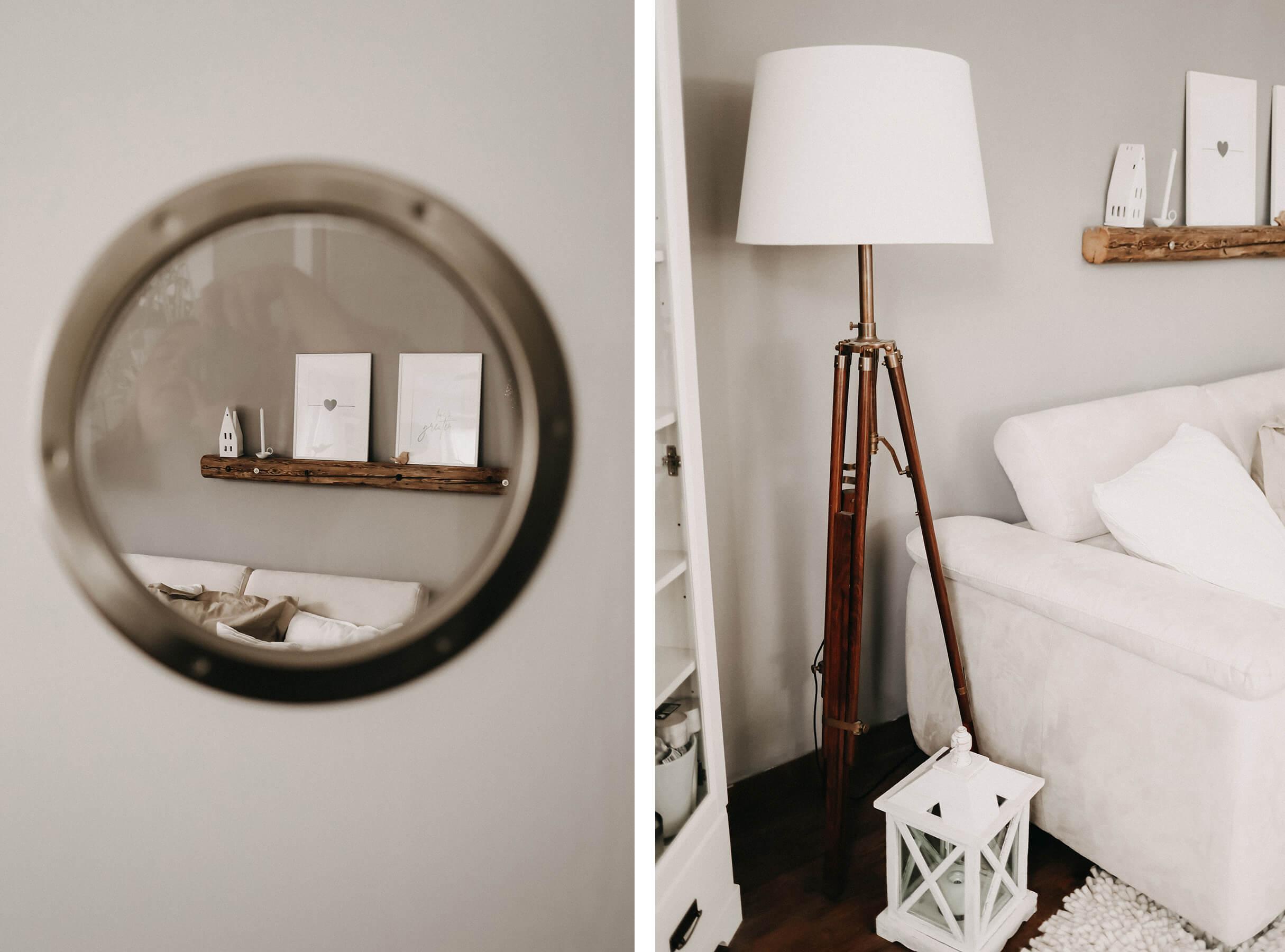 Bullauge/Wohnzimmer Collage