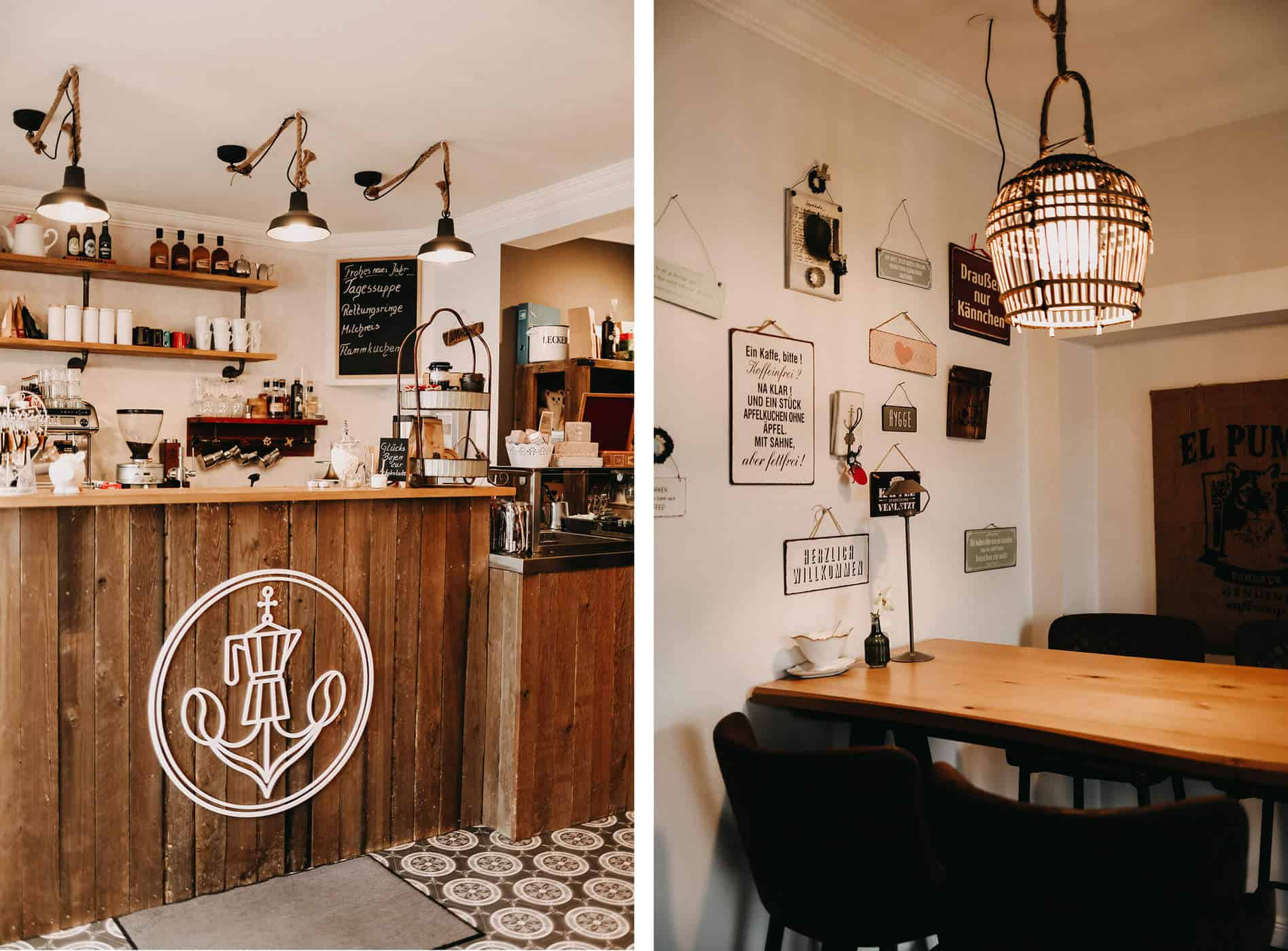 Hafenkaffee Husum Collage