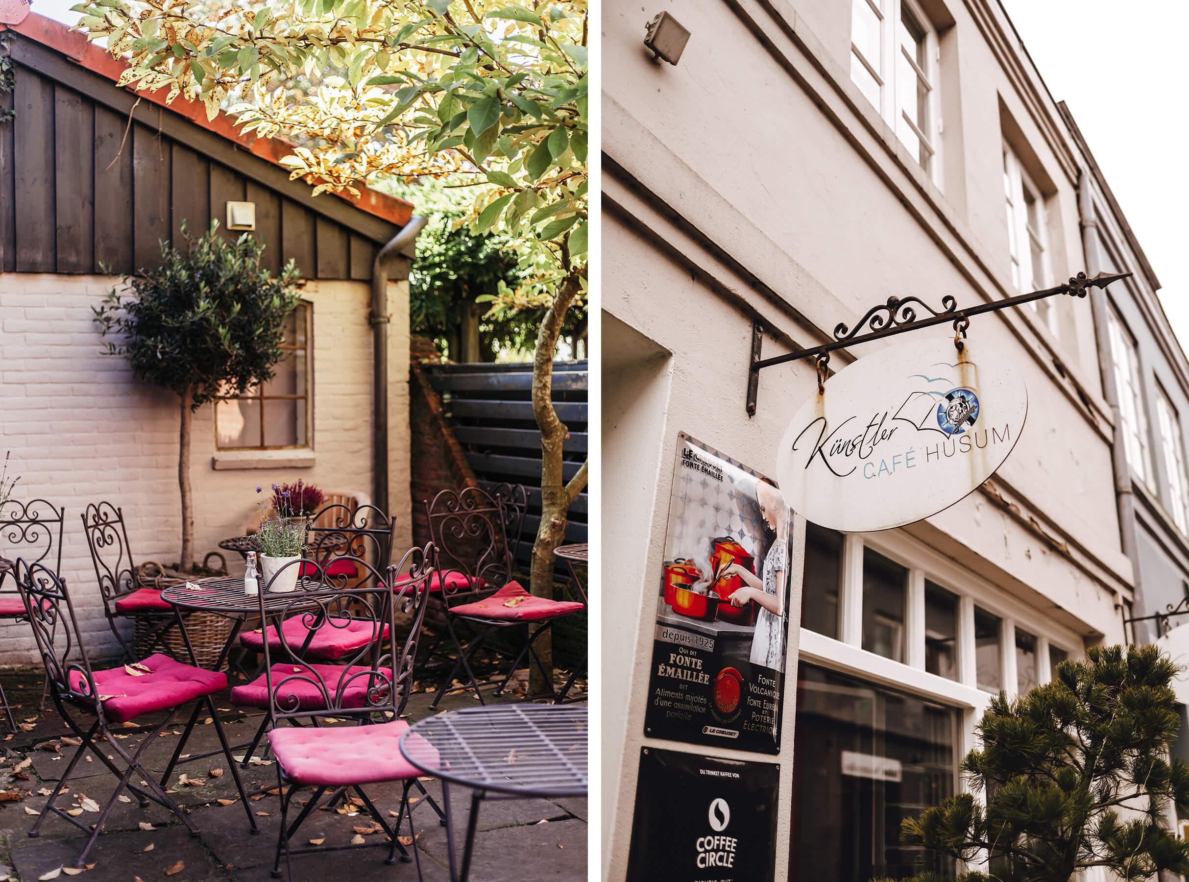 Künstlercafé in Husum Collage