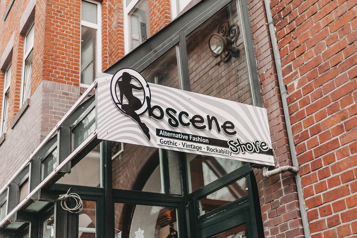 Obscene Store Außenaufnahme