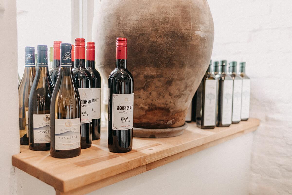 Weinauswahl