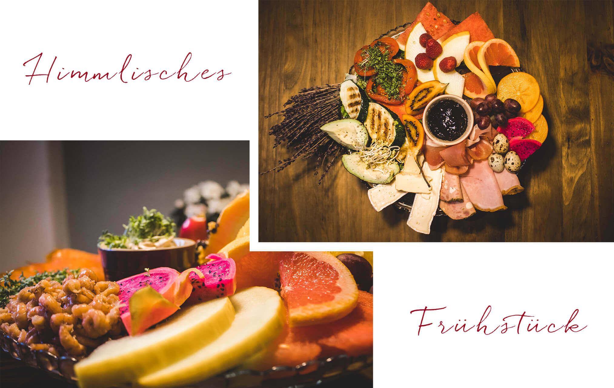 Frühstück Collage