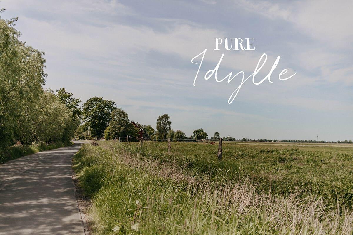 Fahrradtour durch die Natur